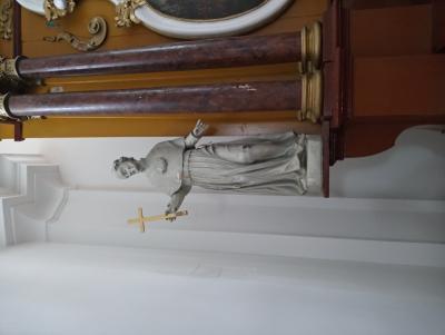 Szent Jakab szobor Kisorosziban