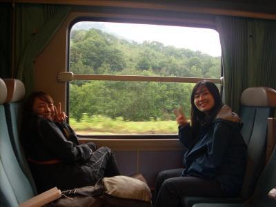 Koreai lányok ők is a Caminora készülnek