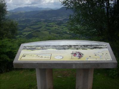 -pihenőhely a pireneusukban 850m-en-