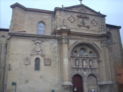Santo Domingo.Calzada/ Szent Domonkos templom épült a 12sz.