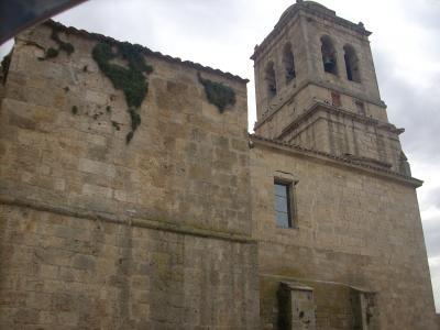 Hontanas/középkori templom/
