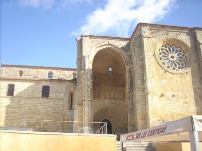 Villalcazar De Sirga/a templom temetkezési helyként is szolgált/