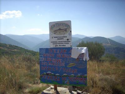 Camino út /hegyek/