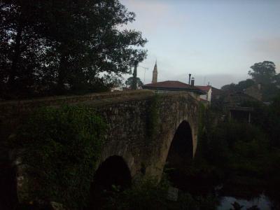 Camino út/ kő híd/