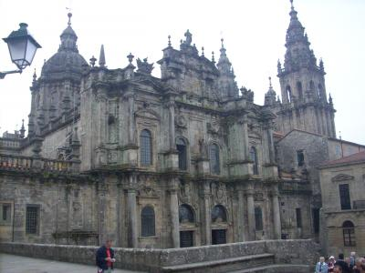 Camino út/ Santiagoi katedrális/ végállomását jelentette a zarándoklatomnak/