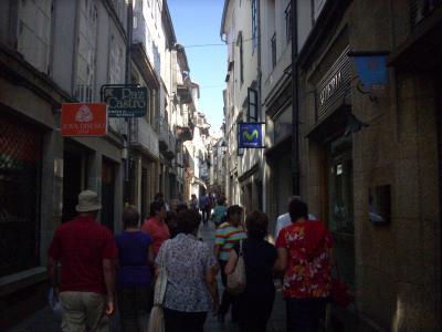 Camino út/ Santiago Compostela/