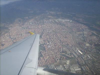 Camino út/ útban hazafelé/ Barcelona/