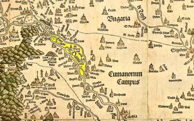 dány térkép Lázár deák térkép | Dányi krónika dány térkép